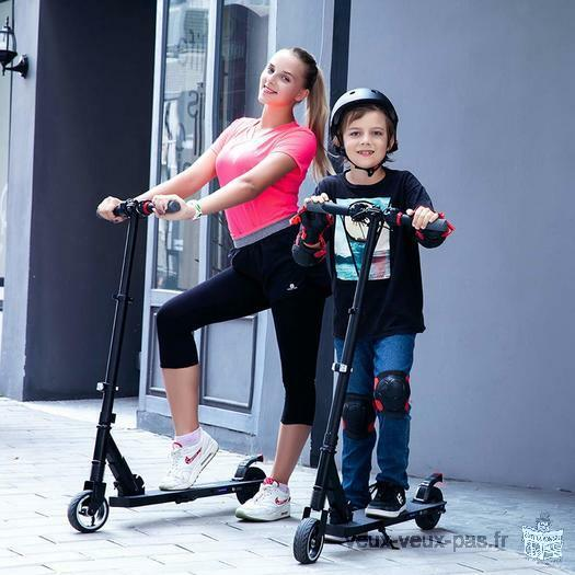 Lightweight 7.5kg Foldable Electric Scooter for Teen and Adult Mixed