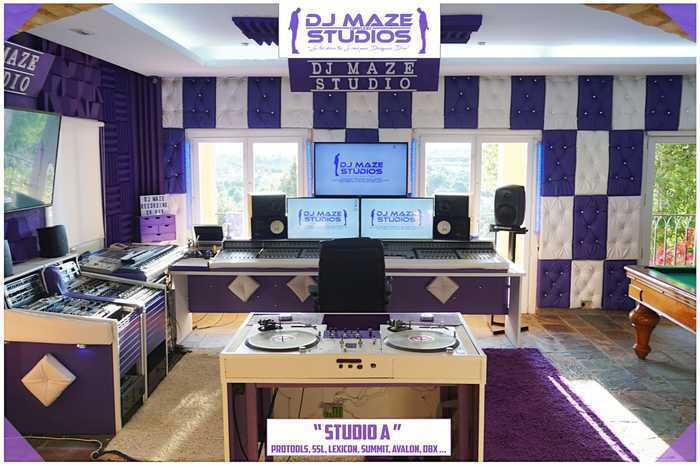 Location Dj maze studio