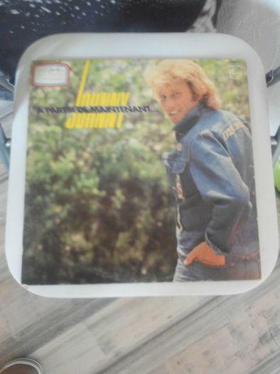 Vinyle Johnny Hallyday A partir de maintenant 1980