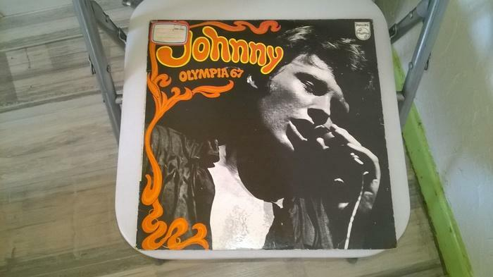 Vinyle Johnny Hallyday Olympia 67 Live 1967