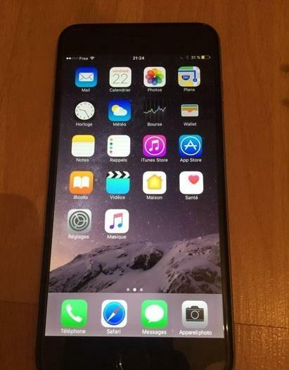 iPhone 6 16Go débloqué tout opérateur a 250€