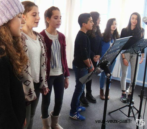 Stage de chant Adolescents/Adultes février 2019