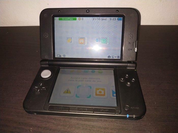 3DS XL bleu métallisé