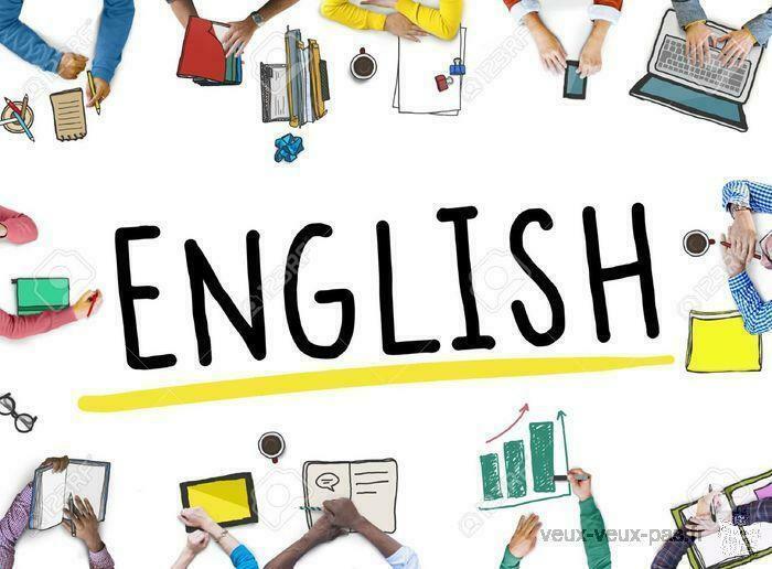 Cours d'anglais tous niveaux