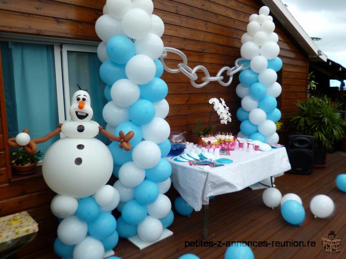 Décoration ballon anniversaire enfant : sur le thème de votre choix
