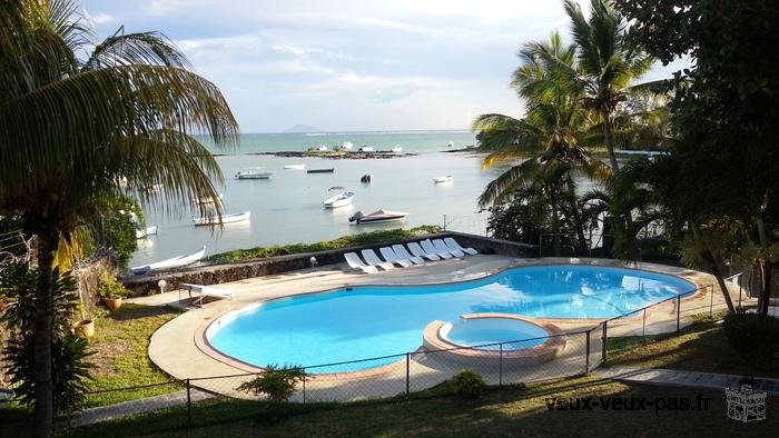 Louez votre Villas à l'Ile Maurice/Bord de mer/ Direct propriétaires
