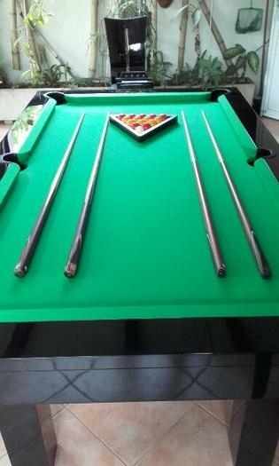 Vends billard-table à manger