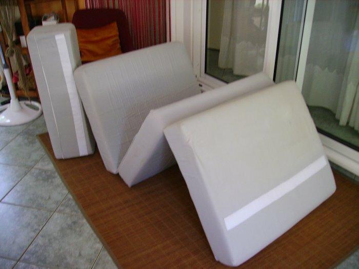 siège-lit repliable