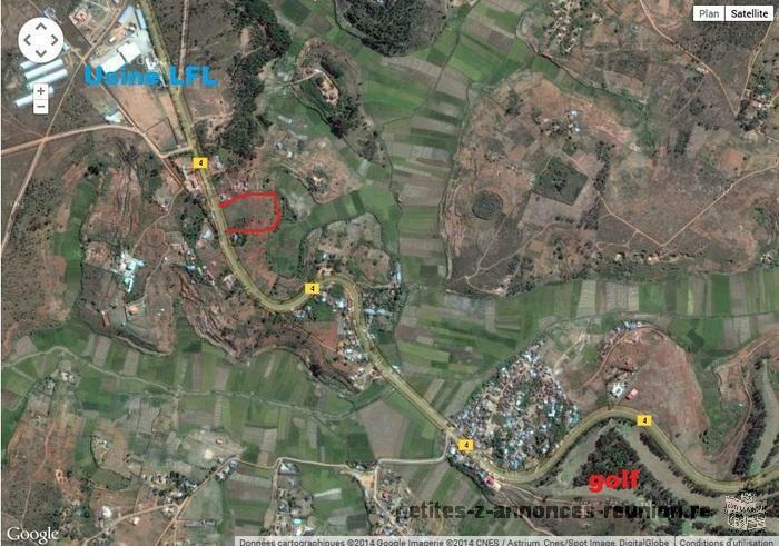 terrain 10.000 m2 bord de RN4 andakana ankazo