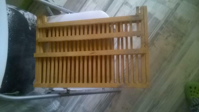Égouttoir bambou
