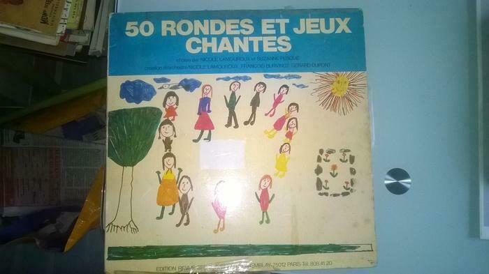 50 Rondes Et Jeux Chantés