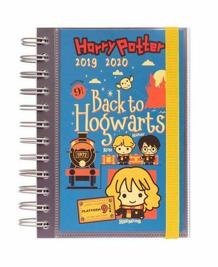 Agenda Scolaire Journalier Harry Potter 2019/2020-10 mois
