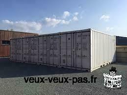 Conteneurs maritimes de stockage de matériaux