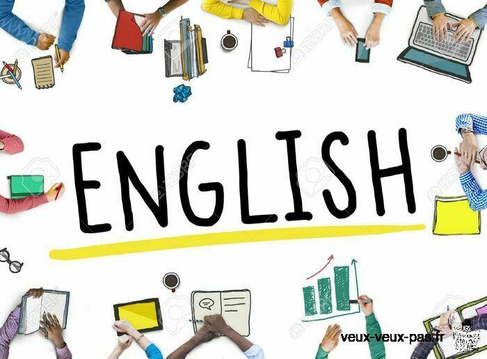 Cours d'anglais avec une Native Speaker