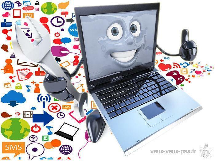 Dépannage & Initiation à l'informatique et à Internet