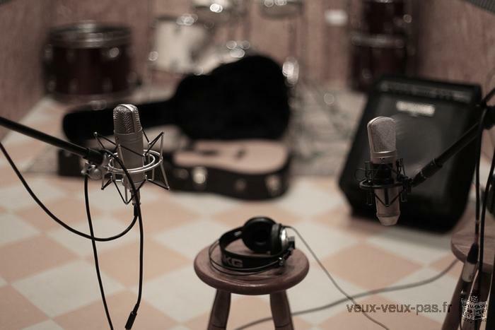 Enregistrement et mixage de vos projets musicaux