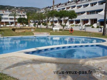 LOCATION ESPAGNE VACANCES MER APPARTEMENT PISCINES TENNIS PARKING BARBECUE(ALCOCEBRE)