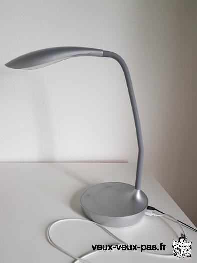 Lampe bureau LED avec USB chargeur