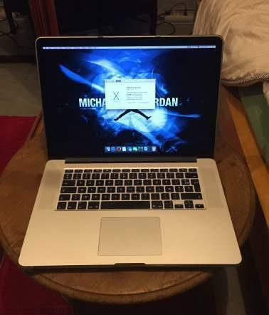 Macbook Pro Retina 15 512SSD 16g