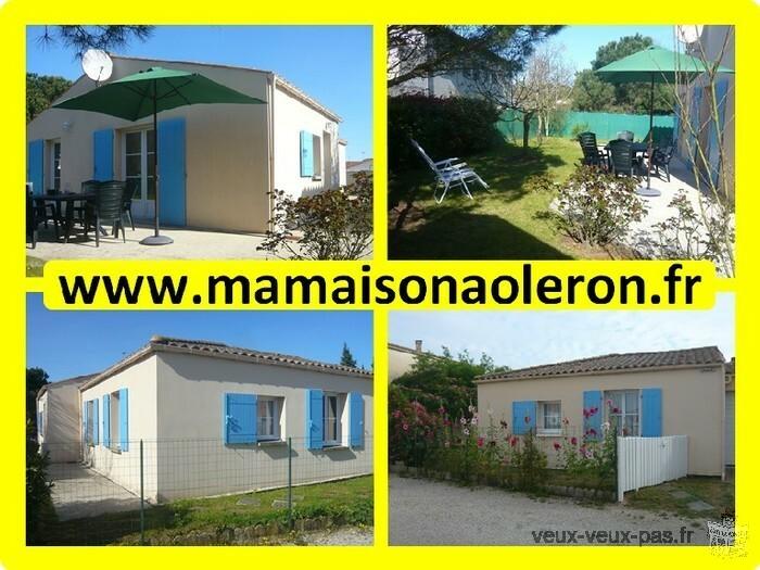 OLERON location maison classée 2* 3ch/6pers plain-pied calme