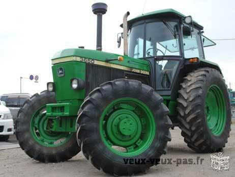 Offre de mon tracteur John Deere 3650