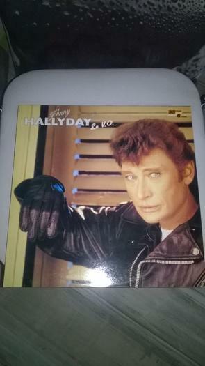Vinyle Johnny Hallyday – En V.O.