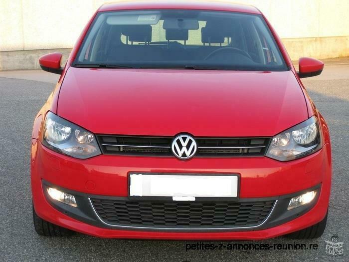 Volkswagen Polo rouge