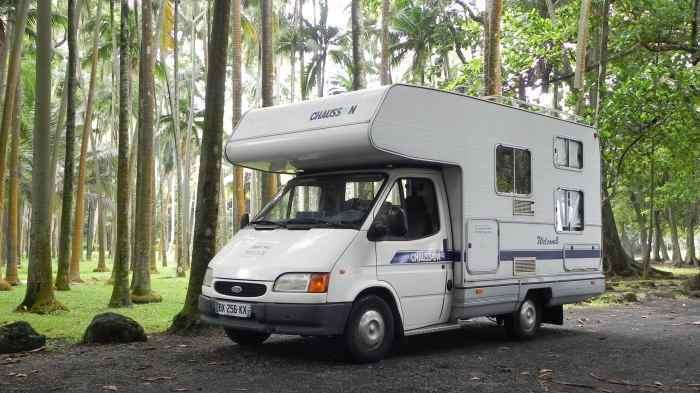 location camping car ile de la réunion